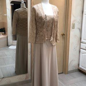 JS Boutique two piece gown